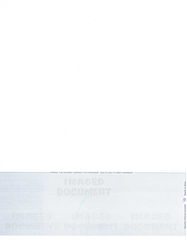 Cheque Position on Bottom- Blue