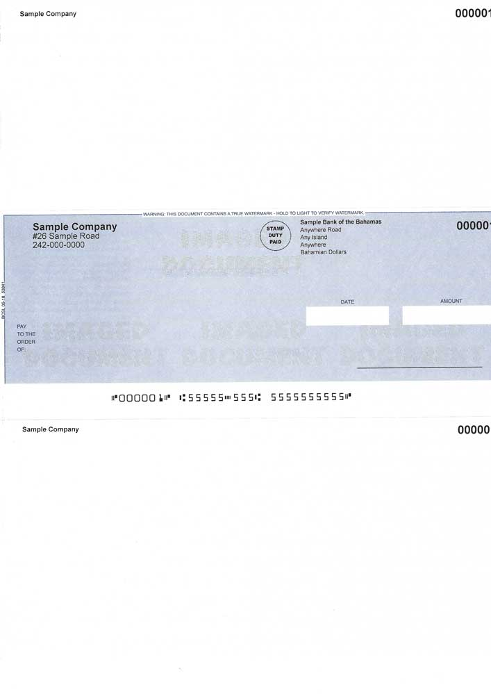Peachtree Cheques